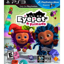Eye Pet & Friends Ps3 Nuevo De Fabrica Citygame
