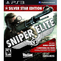Sniper Elite V2 Silver Star Ps3 Nuevo De Fabrica Citygame