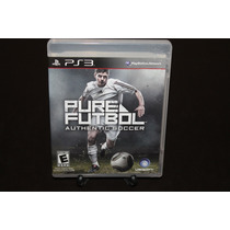 Pure Futbol Authentic Soccer. Playstation 3. Seminuevo