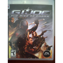 Ps3 G.i. Joe, The Rise Of Cobra, Seminuevo, Original