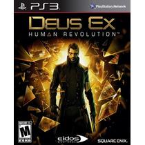 Deus Ex Human Revolution Para Ps3 Nuevo Sellado Vv4 Hm4