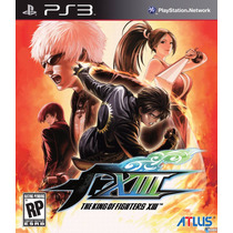The King Of Fighters Xiii Kof Ps3 + Todos Los Dlc