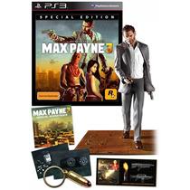 Max Payne 3 Edición Especial Ps3 Special Collectors Edition