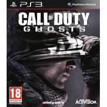 Call Of Duty Ghost Ps3 Nuevo Con Codigo Para Ps4