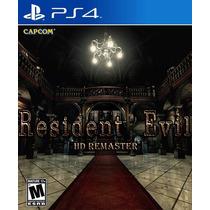 Resident Evil Hd Remaster Ps4 :videojuegos Ordex: