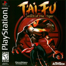 Tai Fu Wrath Of The Tiger Ps1 Ps2*