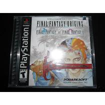 Final Fantasy Origins Para Playstation Psone Psx Ps1 Nuevo