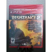 Resistance 2 Greatest Hits Ps3 Nuevo De Fabrica Citygame