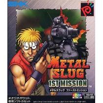 Metal Slug 1st Mission Neogeo Pocket Japonesa