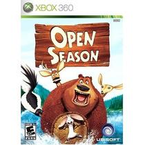 Open Season Xbox 360 Original Usado Blakhelmet