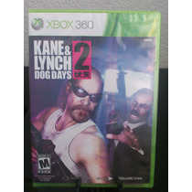 Kane & Lynch 2 Dog Days Xbox 360 Nuevo De Fabrica