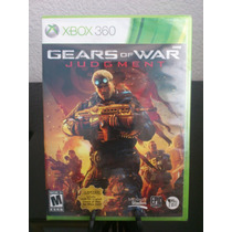 Gears Of War Judgment Xbox 360 Nuevo De Fabrica