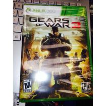 Gears Of War 3 Nuevo Sellado De Fabrica