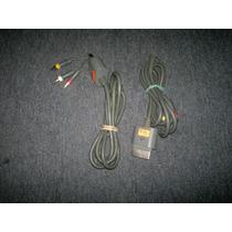 Cables De Audio Y Video Para Xbox 360 De 3 Puntas,checalo