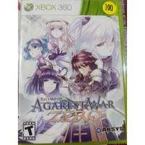 Record Of Agarest War Zero - Xbox 360 - Hm4