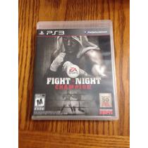 Fight Night Champion Ps3 Excelente Condiciones Rh