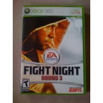 Juego Para Xbox 360 Fight Night Round 3