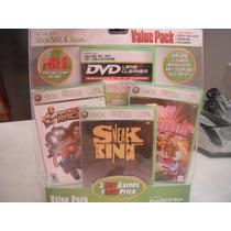 Set 3 Videojuegos Xbox 360 Y Limpiador De Consolas