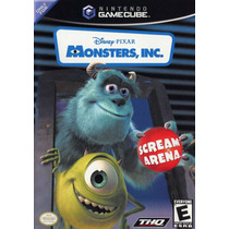 Monsters Inc Seminuevo Gamecube Envio Gratis