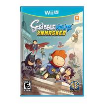 Scribblenauts Unmasked: A Dc Comics Adventure Wii U