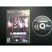Video Juego Loons Fight For Fame Para Xbox Negro