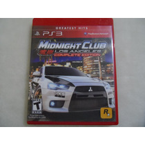 Midnight Club Los Angeles Complete Edition Ps3 Oferta !!!!!
