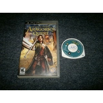 Lord Of The Ring Aragon Quest Para Sony Psp,excelente Titulo