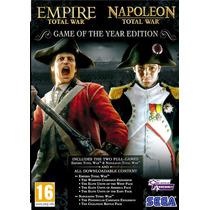 Combo Empire Y Napoleon Total War Juego Para Computadora Mn4