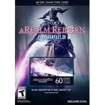 Tarjeta De Prepago Final Fantasy Xiv Arr, Nueva, Original!*!