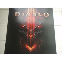 Diablo 3 Poster Original Blizzcon 2011 Exclusivo Diablo.