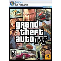 Grand Theft Auto Iv Pc Window Nuevo Sellado 100% Original