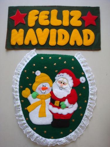 Juego De Baño Navideno A Crochet:Juegos De Baño Navideños – $ 18000 en MercadoLibre