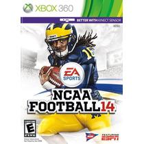 Juego Ncaa Football 14 Xbox 360 Usado Blakhelmet