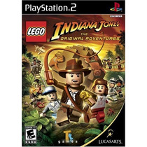 Lego Indiana Jones: The Original Adventures Ps2 - Mannygames