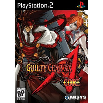 Guilty Gear Xx Accent Core Ps2--mannygames
