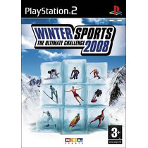 Winter Sports The Ultimate Challenge 2008 Ps2 Envio Gratis