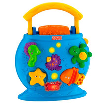 Pecera Aquario Para Bebé Fisher Price Ocean Wonders