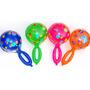 Lote Sonajas Inflables En Varios Colores (50 Pzas)
