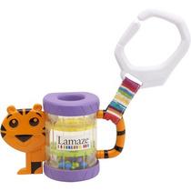 Juguete Bebe Estimulación Sonaja Tigre Lamaze