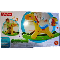 Jirafa Brillos Luminosos Musical Fisher Price Nuevo