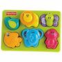 Rompecabezas Animales Fisher Price Bebés Estimulación Mattel