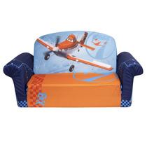Sofacama Sillon Para Ninos Disney Aviones Jake Sofia