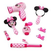 Minnie Mouse Set De Belleza (real Secador De Pelo Sonido)