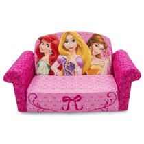 Sofacama Sillon Para Ninos Disney Princesas Aviones Spiderma