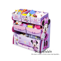Organizador De Juguetes Para Niñas De Minnie Mouse