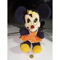 Figura De Peluche Antiguo Minnie Mouse Walt Disney Character