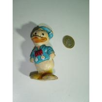 Antiguo Muñeco Figura De Pato Donald En Vinil Sobrino 50