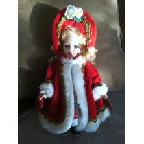 Muñeca De Porcelana Rojo