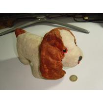 Juguete Antiguo Perro Perrito Relleno De Acerrín Decoración