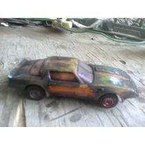 Pontiac Transam Turbo A Escala 1 A 43 De Metal Antiguo